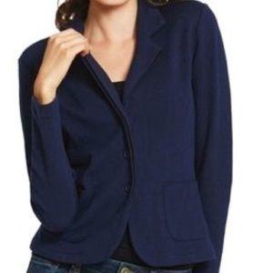CAbi Navy Knit Blazer - Style #902